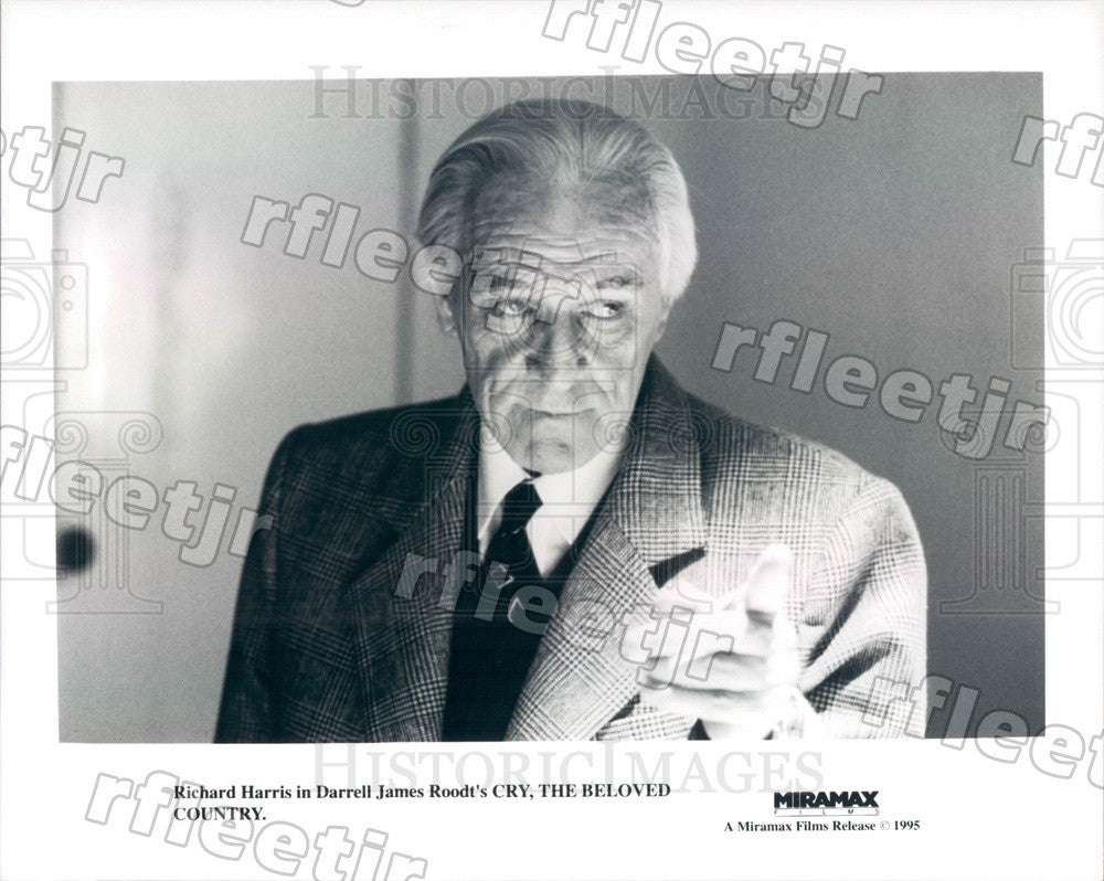 1995 Grammy Winning Actor Richard Harris in Film Press Photo adx225 - Historic Images
