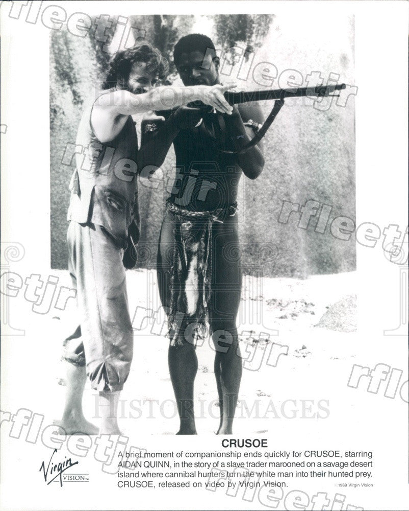 1989 American Actor Aidan Quinn in Film Crusoe Press Photo adx263 - Historic Images