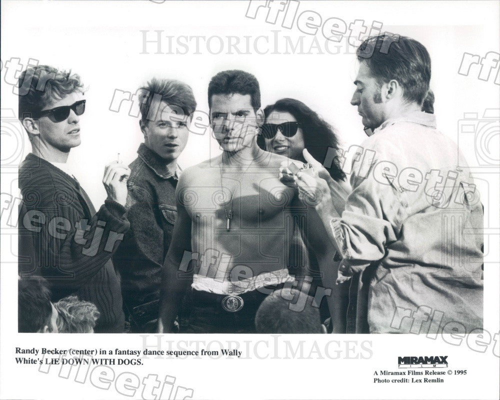 1995 Actor Randy Becker in Film Lie Down With Dogs Press Photo adx289 - Historic Images