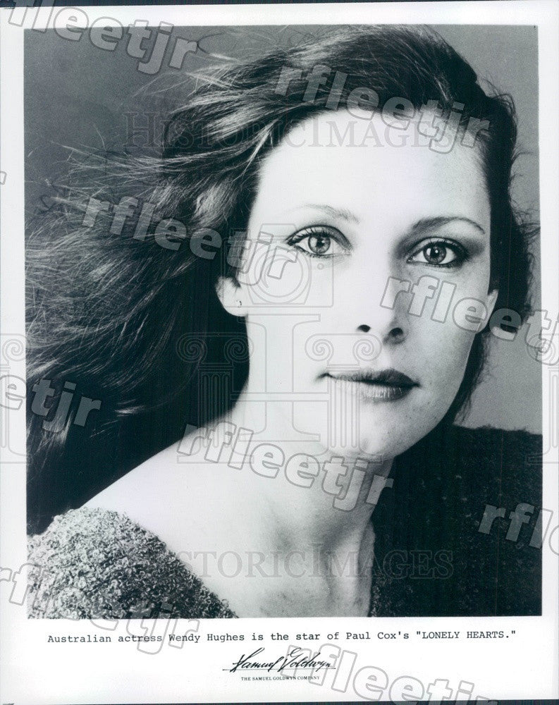 Undated Australian Actress Wendy Hughes in Film Lonely Hearts Press Photo adx299 - Historic Images