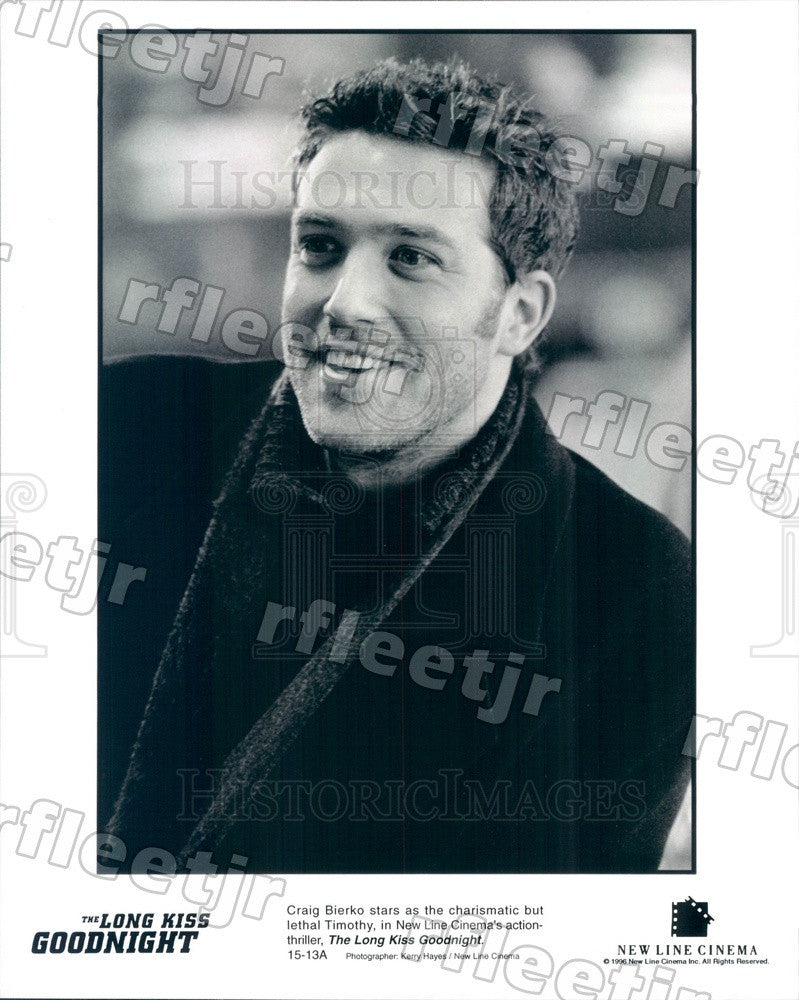 1996 Actor Craig Bierko in Film The Long Kiss Goodnight Press Photo adx313 - Historic Images