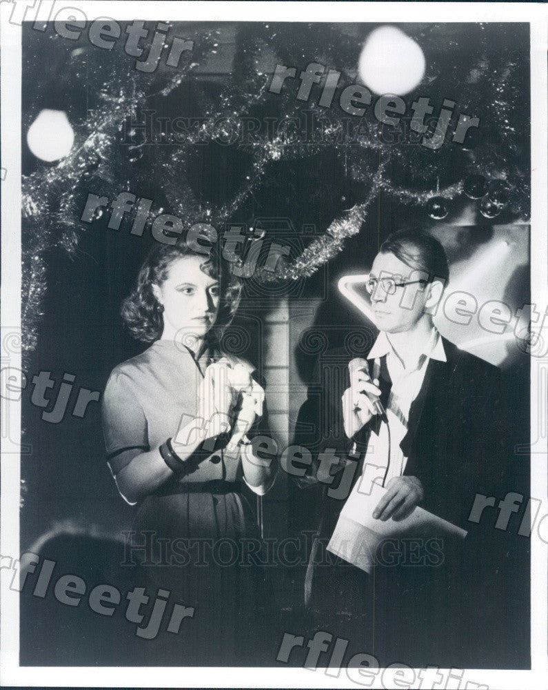 Undated Actors Ellen McElduff & David Brisbin in 1936 Film Press Photo adx337 - Historic Images
