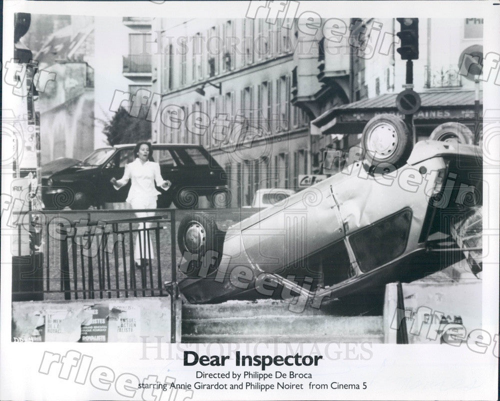 1978 Scene From Film Dear Inspector Press Photo adx361 - Historic Images