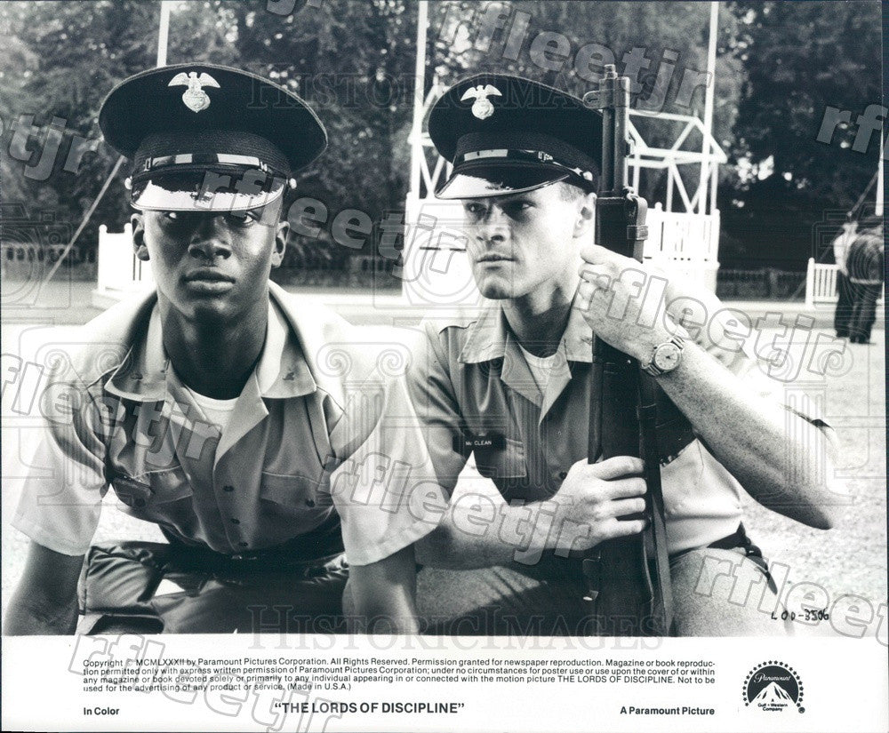 1982 Actors David Keith & Mark Breland in Film Press Photo adx375 - Historic Images