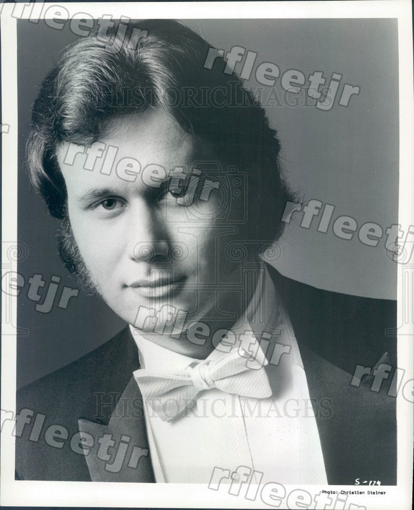 1986 Musician Brent Ellis Press Photo adx391 - Historic Images