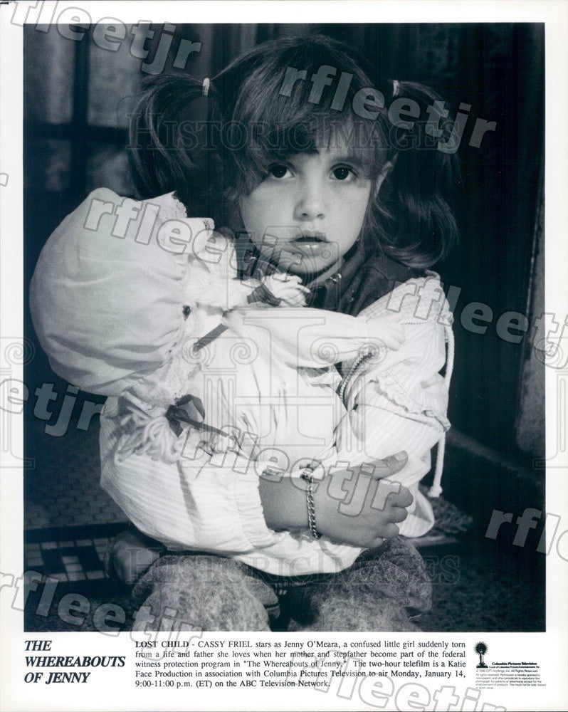 1990 Actress Cassy Friel in Film The Whereabouts Of Jenny Press Photo adx421 - Historic Images