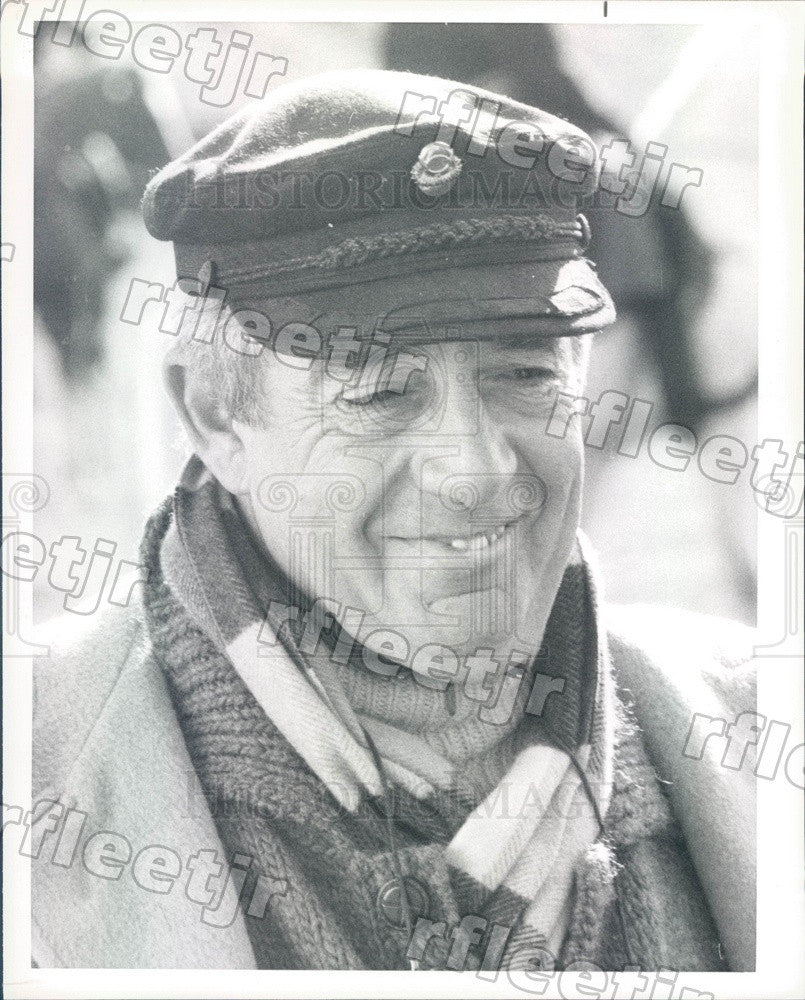 1986 Emmy Winning Producer, Director Marvin J. Chomsky Press Photo adx431 - Historic Images