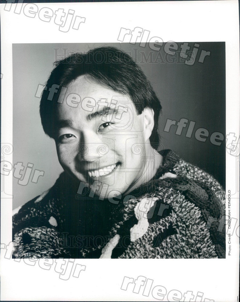 1993 Taiwanese American Violinist Cho-Liang Lin Press Photo adx445 - Historic Images
