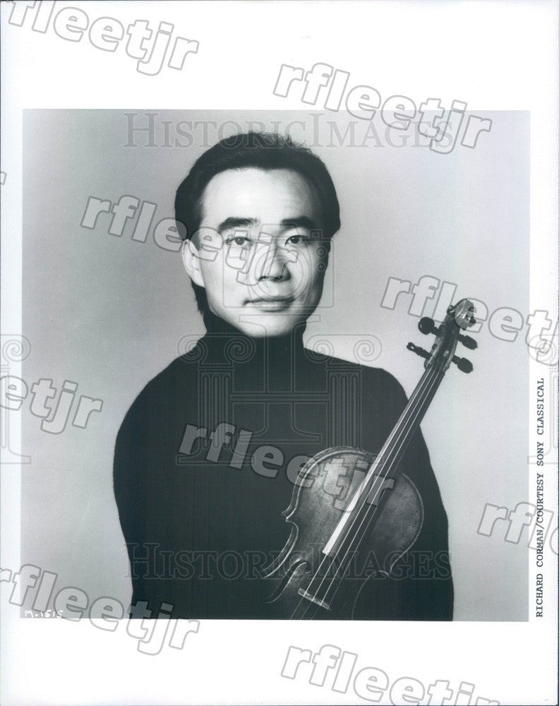 1993 Taiwanese American Violinist Cho-Liang Lin Press Photo adx447 - Historic Images