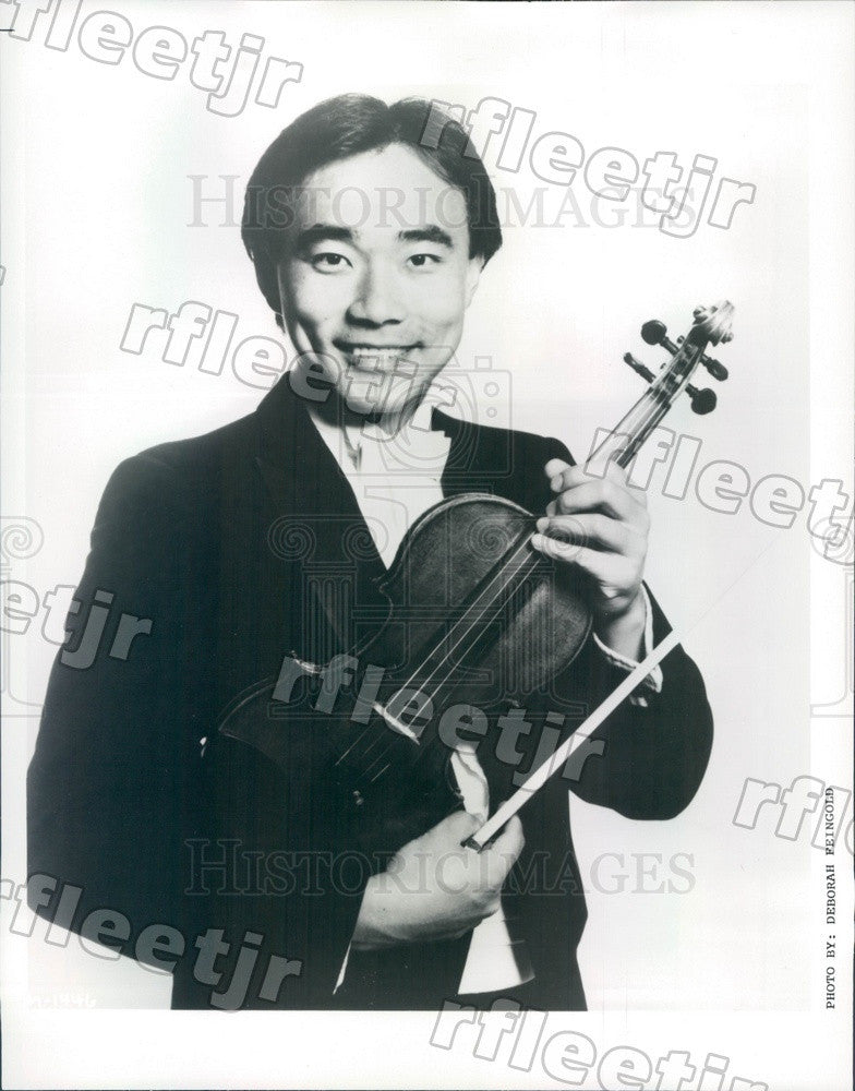 1993 Taiwanese American Violinist Cho-Liang Lin Press Photo adx449 - Historic Images
