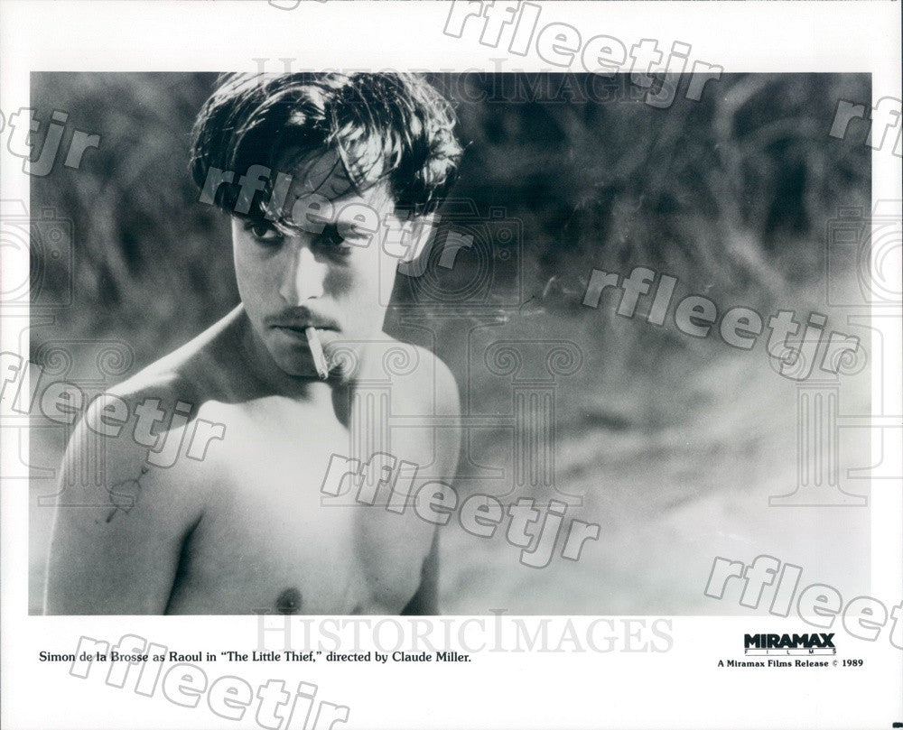 1989 French Actor Simon de la Brosse in Film The Little Thief Press Photo adx45 - Historic Images