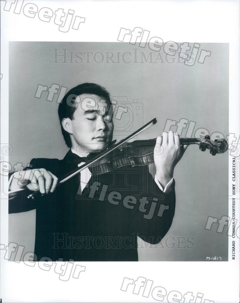 1993 Taiwanese American Violinist Cho-Liang Lin Press Photo adx451 - Historic Images