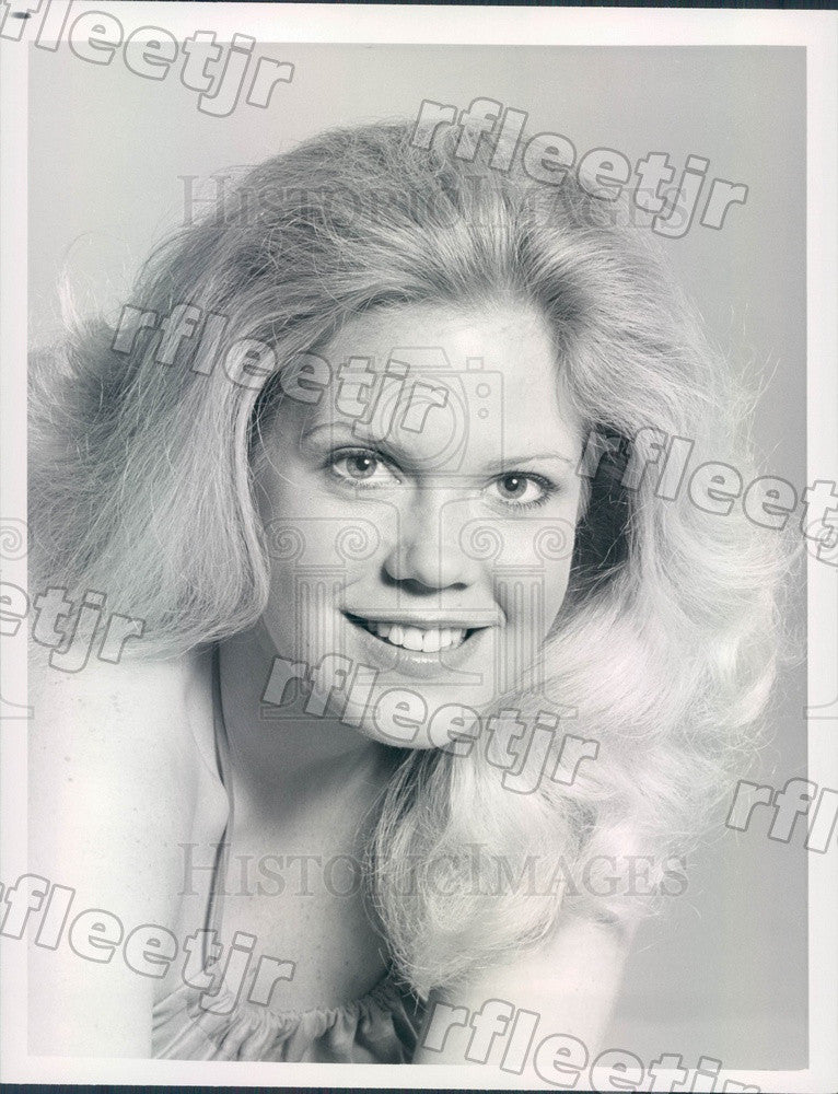 1979 Actress Christopher Norris on TV Show Trapper John, M.D. Press Photo adx475 - Historic Images