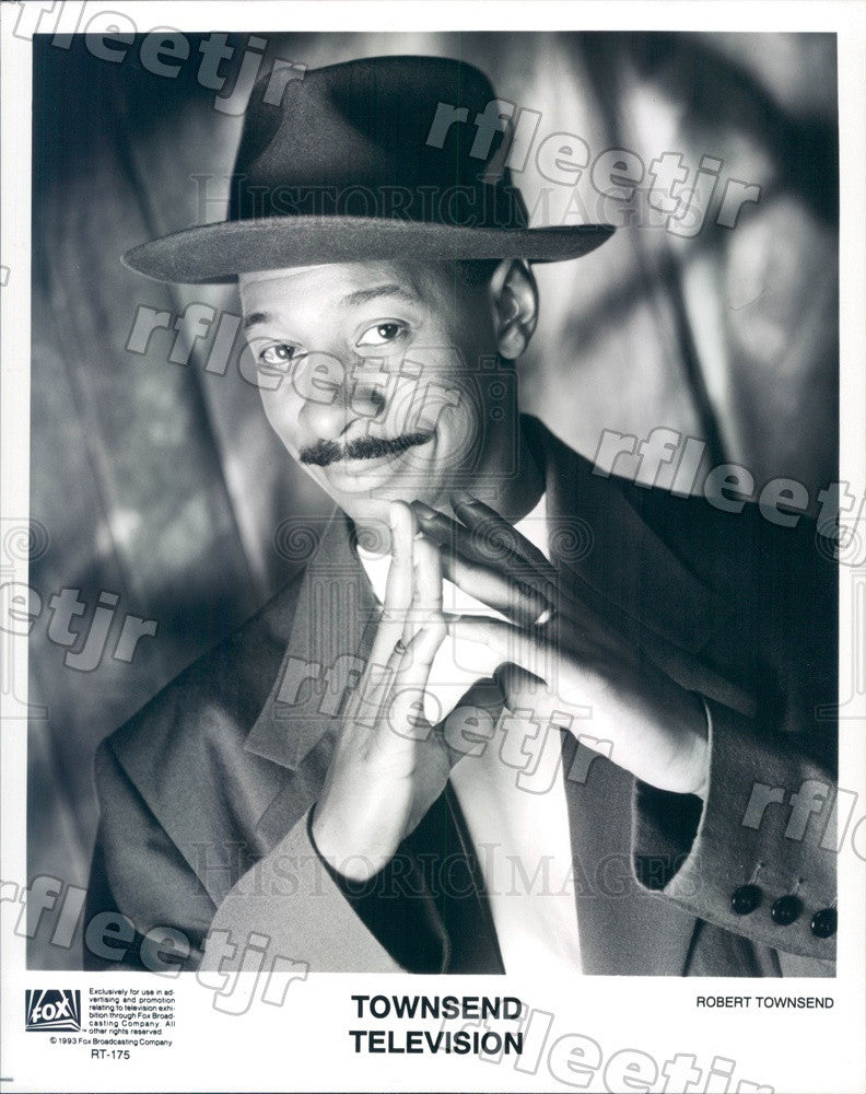 1993 Actor Robert Townsend on TV Show Townsend Television Press Photo adx517 - Historic Images
