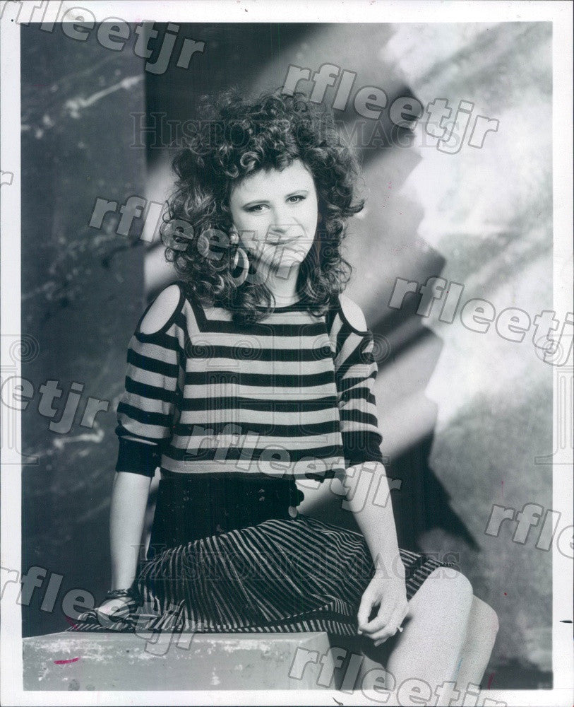 1987 Emmy Winning Actress, Singer Tracey Ullman Press Photo adx521 - Historic Images