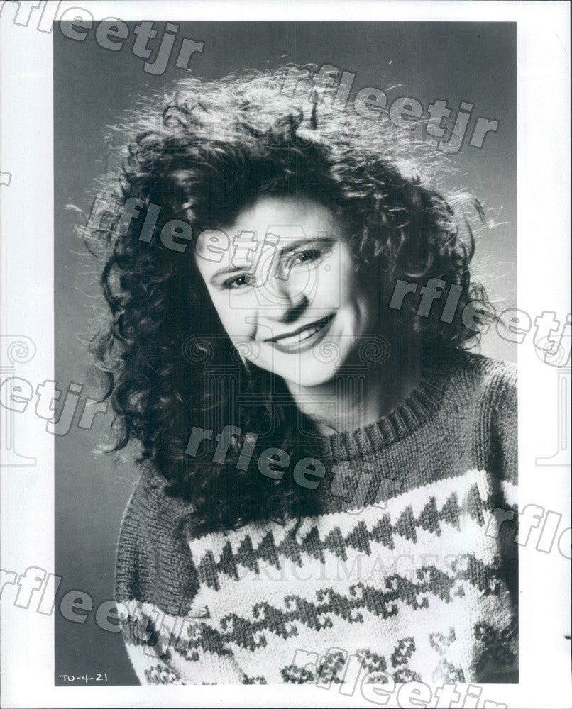 Undated Emmy Winning Actress, Singer Tracey Ullman Press Photo adx531 - Historic Images