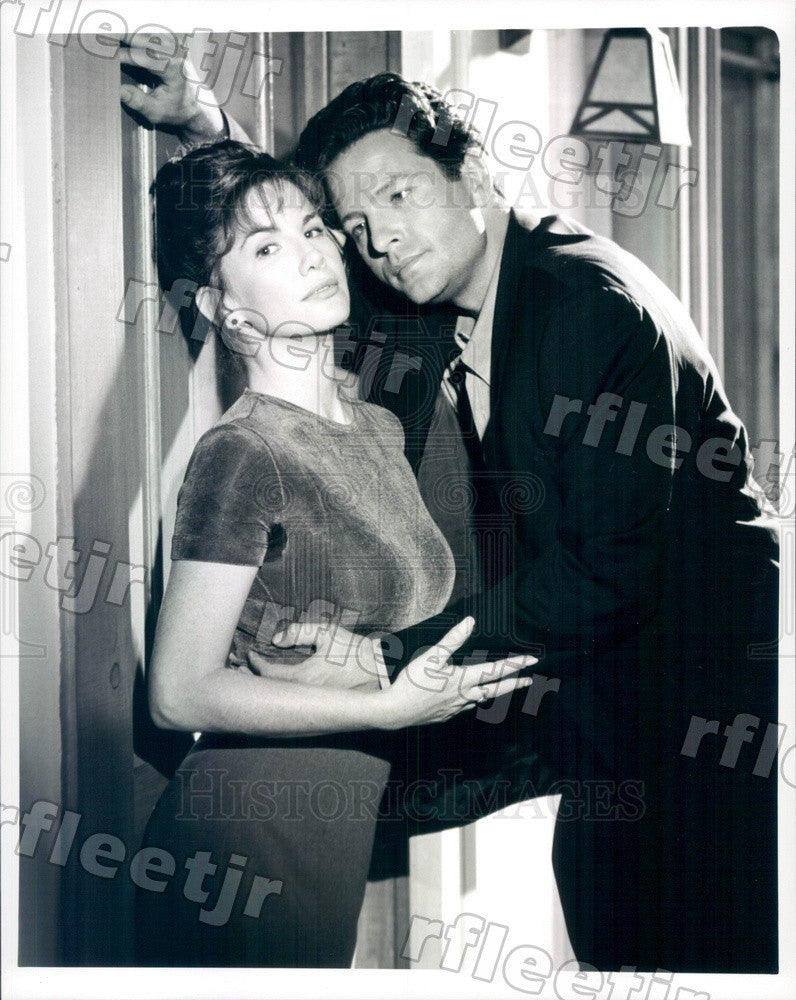 Undated Actors Melissa Gilbert & Dale Midkiff on TV Show Press Photo adx537 - Historic Images