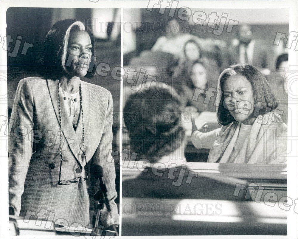 Undated Actress Cicely Tyson on TV Show Sweet Justice Press Photo adx553 - Historic Images