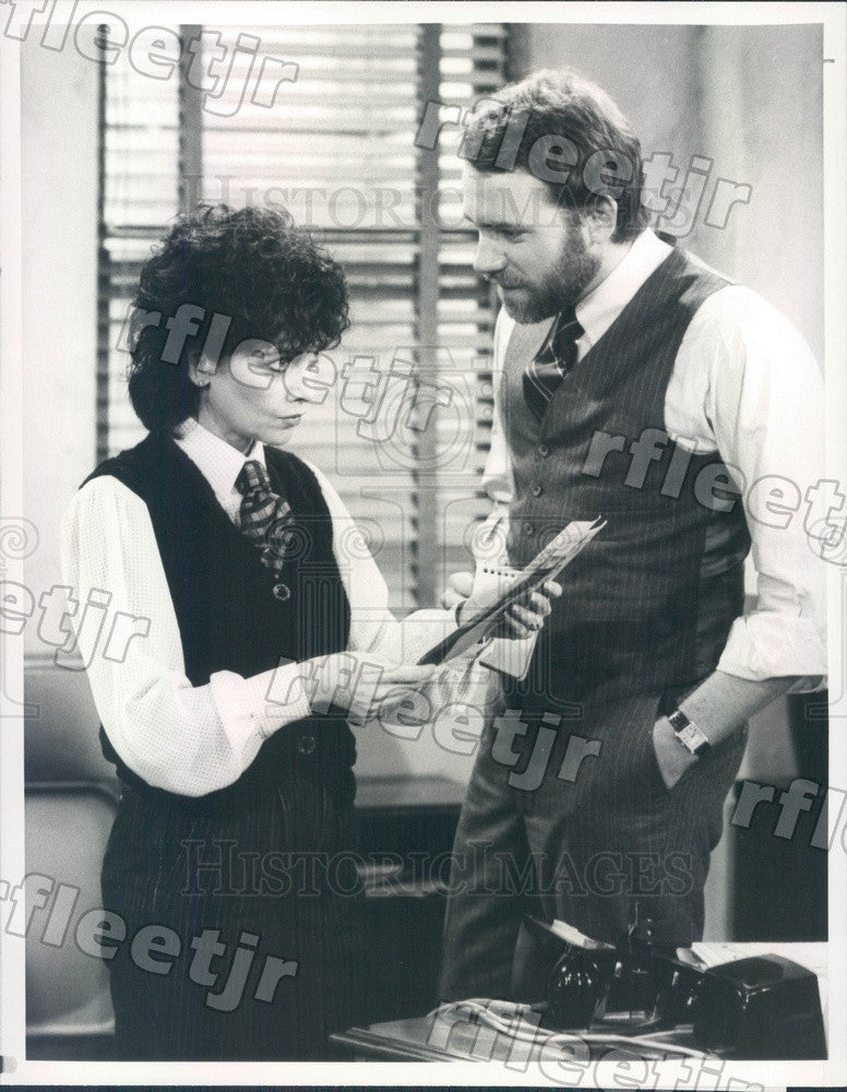 1984 Actors Suzanne Pleshette & John Getz on TV Show Press Photo adx561 - Historic Images