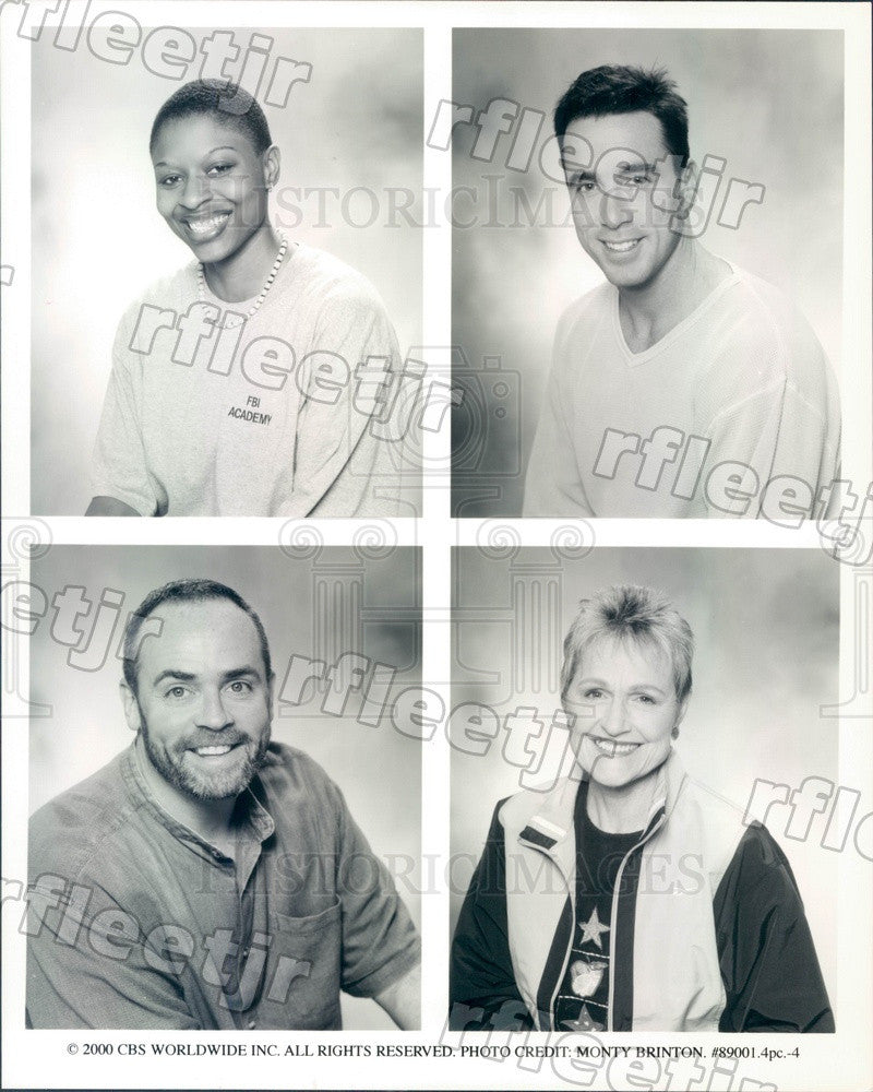 2000 TV Show Survivor Season 1 Contestants Richard Hatch Press Photo adx569 - Historic Images