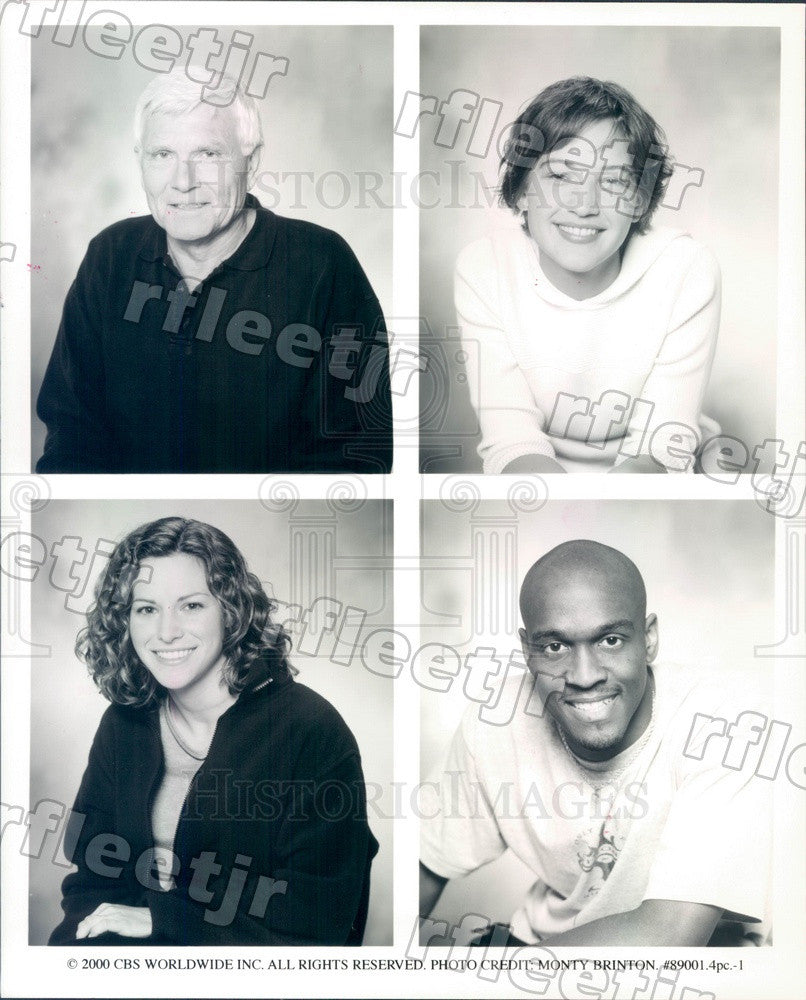 2000 TV Show Survivor Season 1 Contestants BB, Colleen Press Photo adx573 - Historic Images