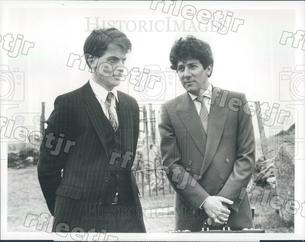 1987 Oscar Winning Actor Peter Capaldi & Peter Riegert in Film Press Photo adx65 - Historic Images