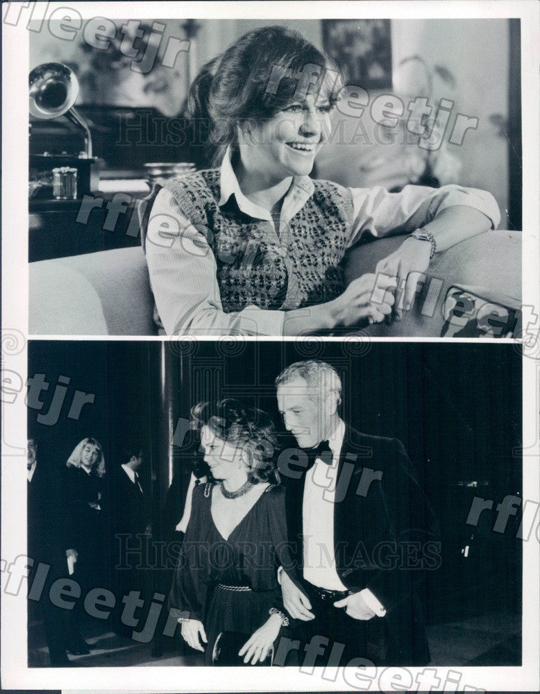 1981 Oscar Winning Actors Sally Field & Paul Newman Press Photo adx675 - Historic Images