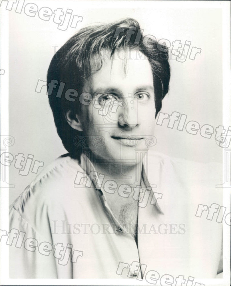 Undated Actor Bronson Pinchot on The Trouble With Larry Press Photo adx735 - Historic Images