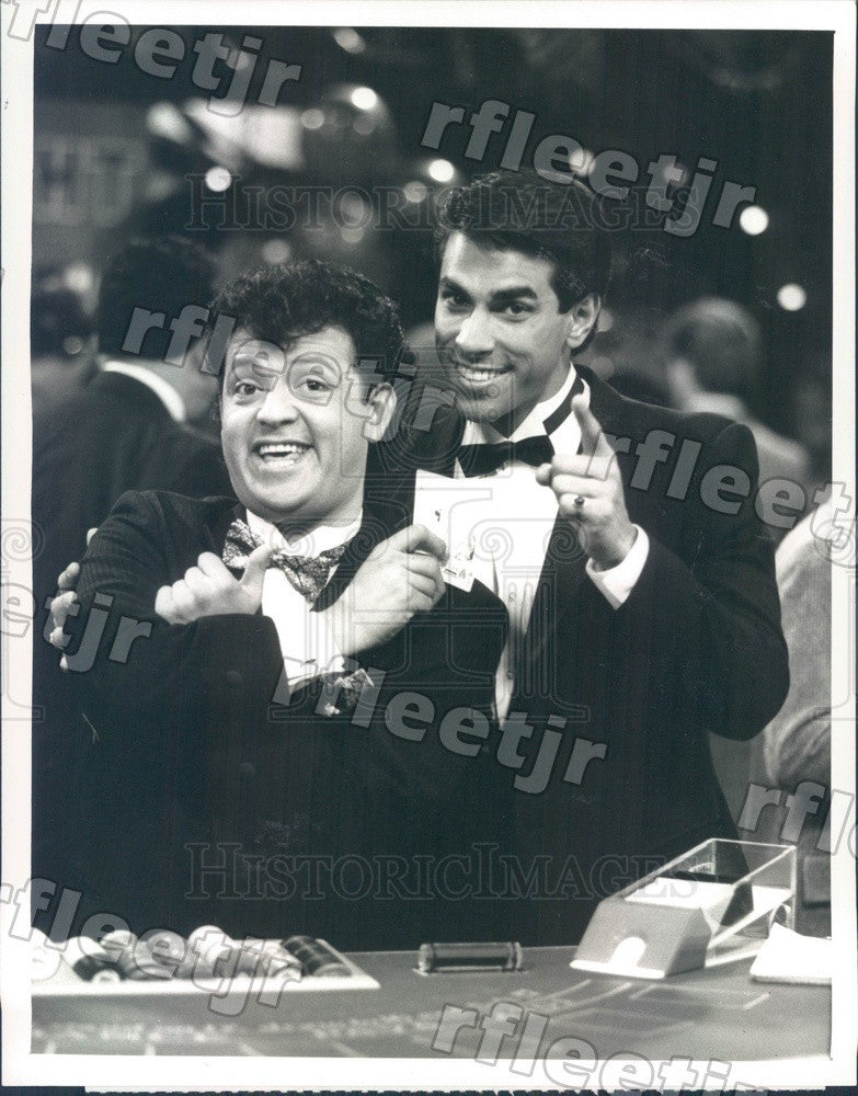 1988 Actors Paul Rodriguez & Eddie Velez on Trial and Error Press Photo adx755 - Historic Images