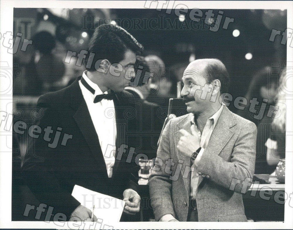 1988 Actors Luis Avalos & Eddie Velez on Trial and Error Press Photo adx757 - Historic Images