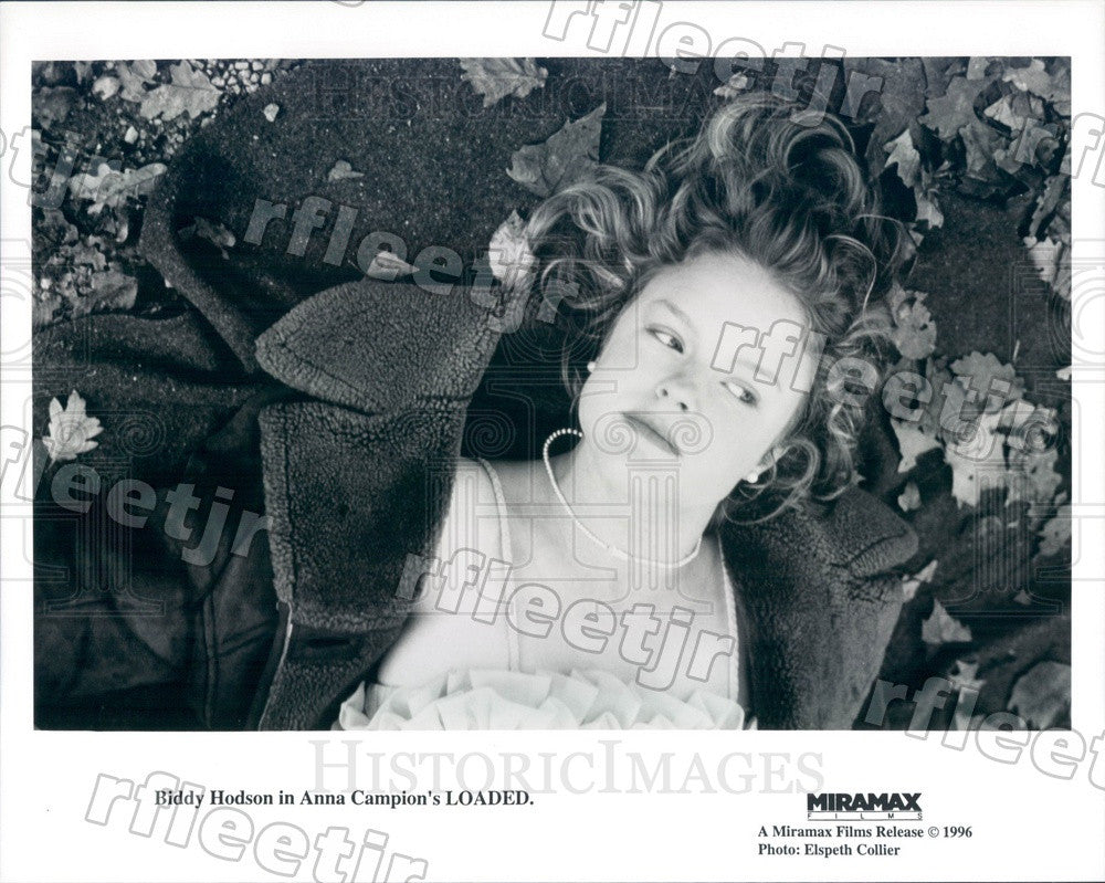 1996 British Actress Biddy Hodson in Film Loaded Press Photo adx77 - Historic Images