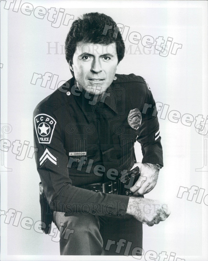 1984 American Actor James Darren on TV Show T.J. Hooker Press Photo adx773 - Historic Images