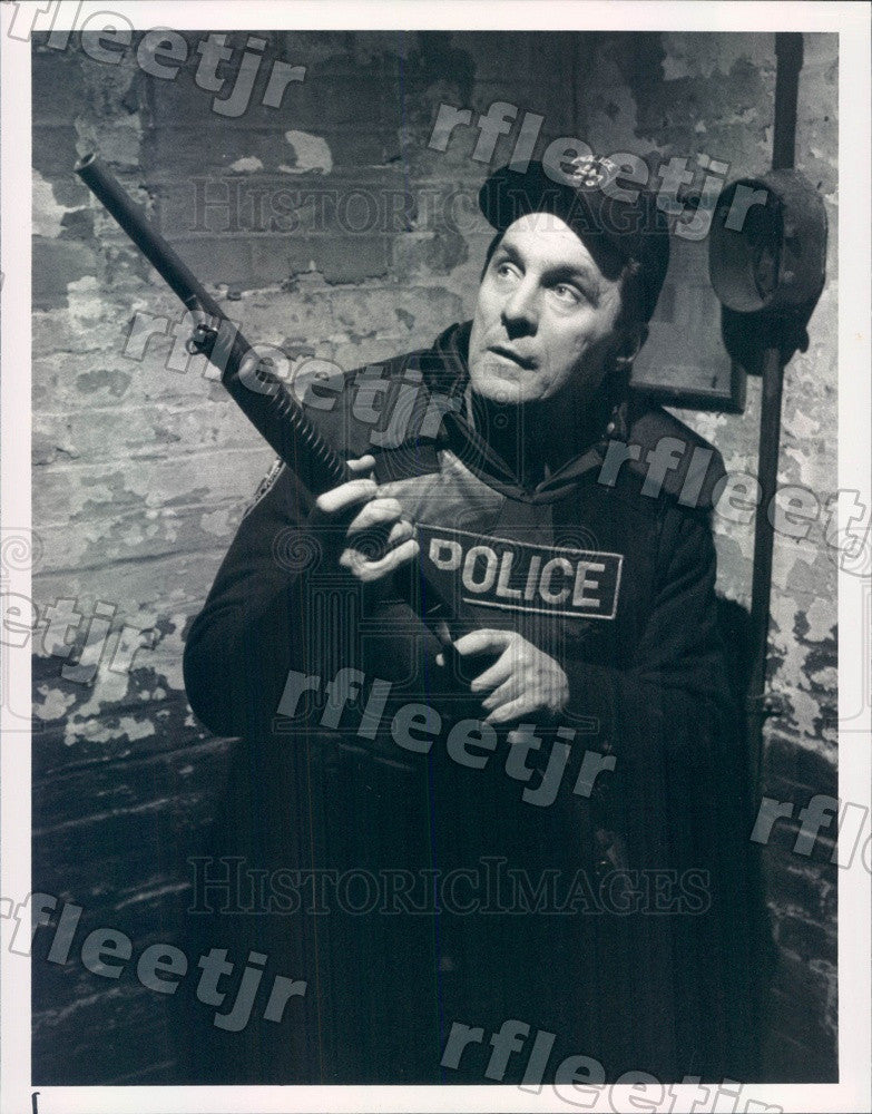 1990 American Actor Beau Starr on TV Show True Blue Press Photo adx821 - Historic Images