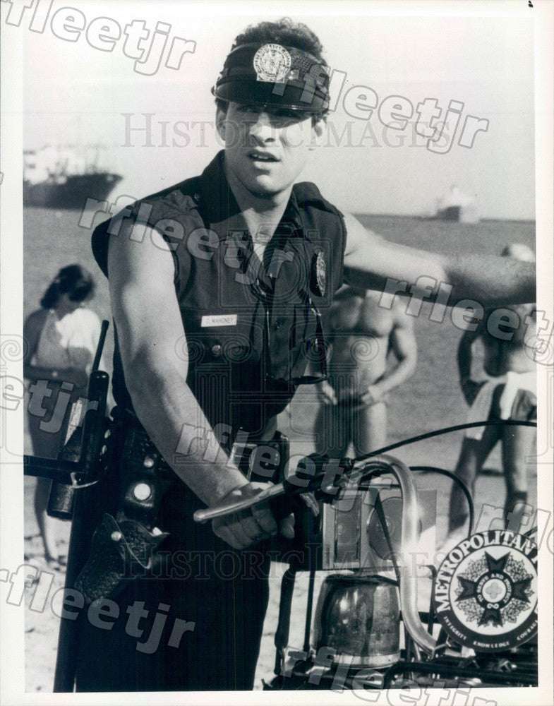 1988 American Actor Steve Guttenberg in Film Police Academy 2 Press Photo adx841 - Historic Images