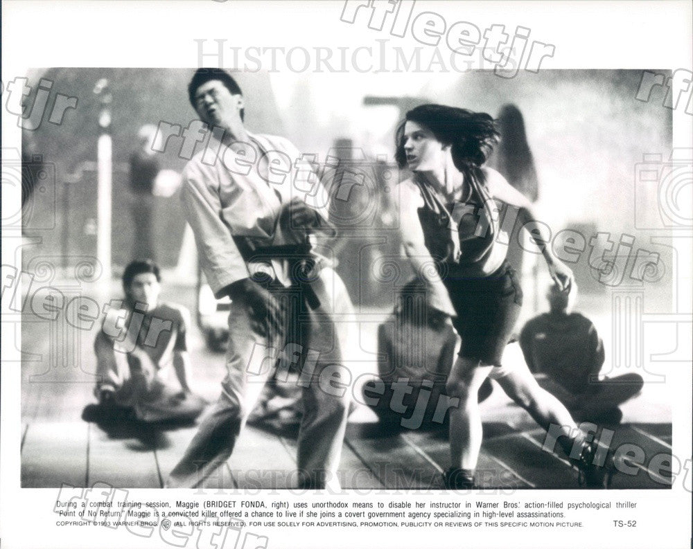 1993 Actress Bridget Fonda in Film Point of No Return Press Photo adx859 - Historic Images