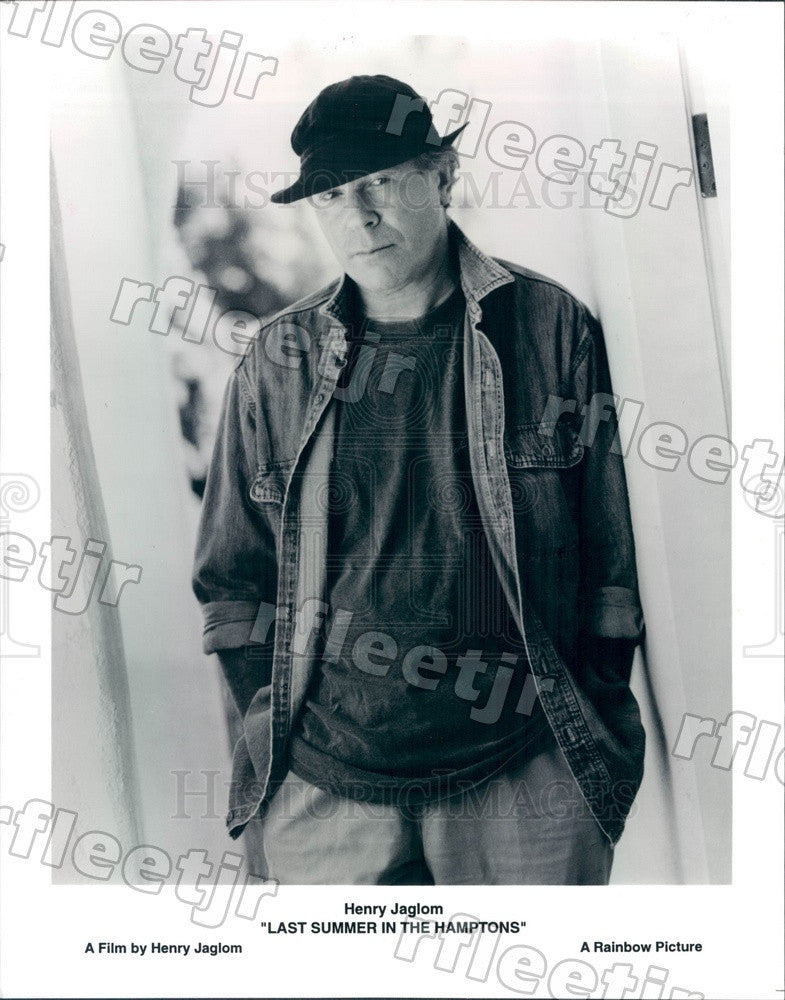 1996 Director Henry Jaglom of Film Last Summer In The Hamptons Press Photo adx89 - Historic Images