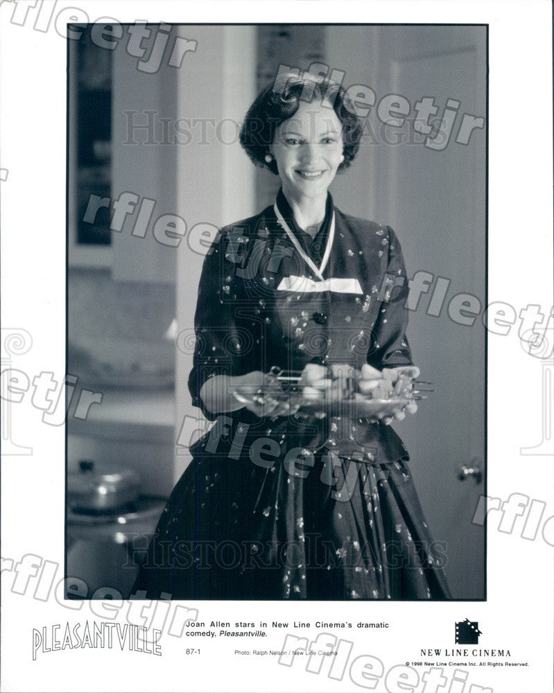 1998 Tony Winning Actress Joan Allen in Film Pleasantville Press Photo adx891 - Historic Images