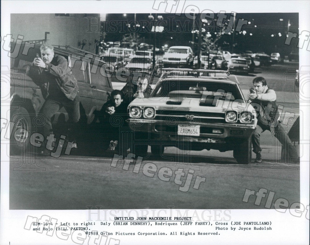 1989 Actors Brian Dennehy, Jeff Fahey, Joe Pantoliano Press Photo adx93 - Historic Images