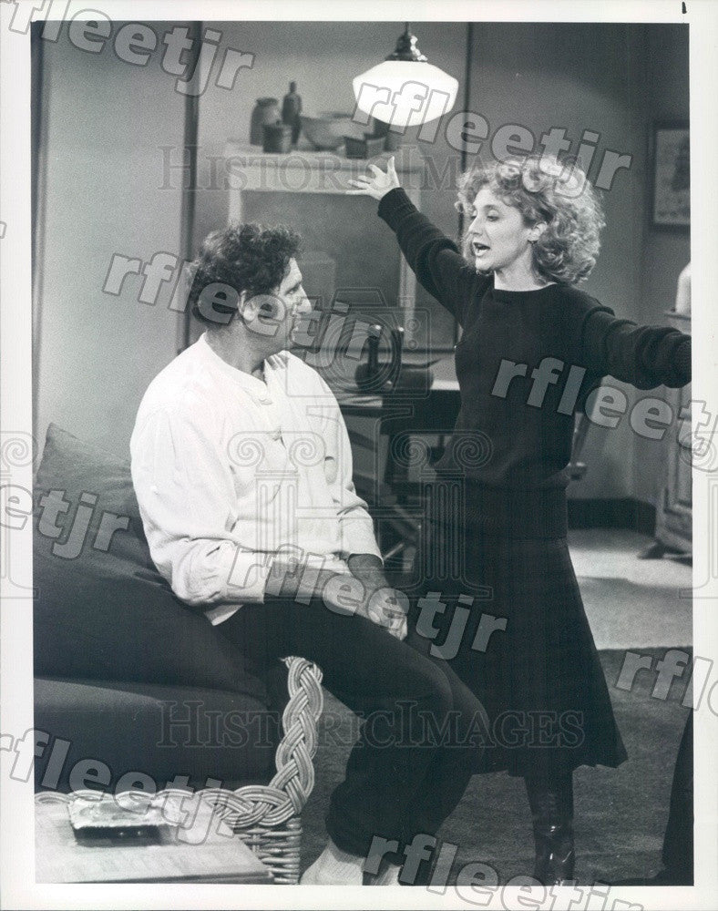 1982 Emmy Winning Actors Judd Hirsch & Carol Kane on Taxi Press Photo adx935 - Historic Images