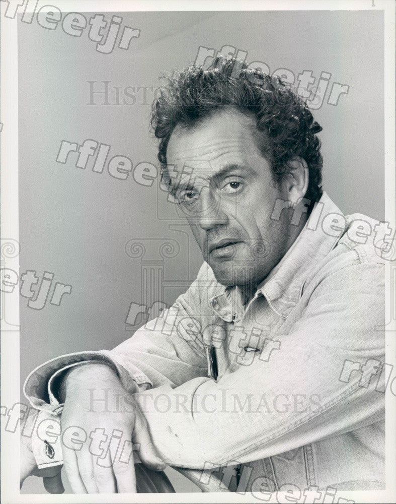 1982 Emmy Winning Actor Christopher Lloyd on TV Show Taxi Press Photo adx945 - Historic Images