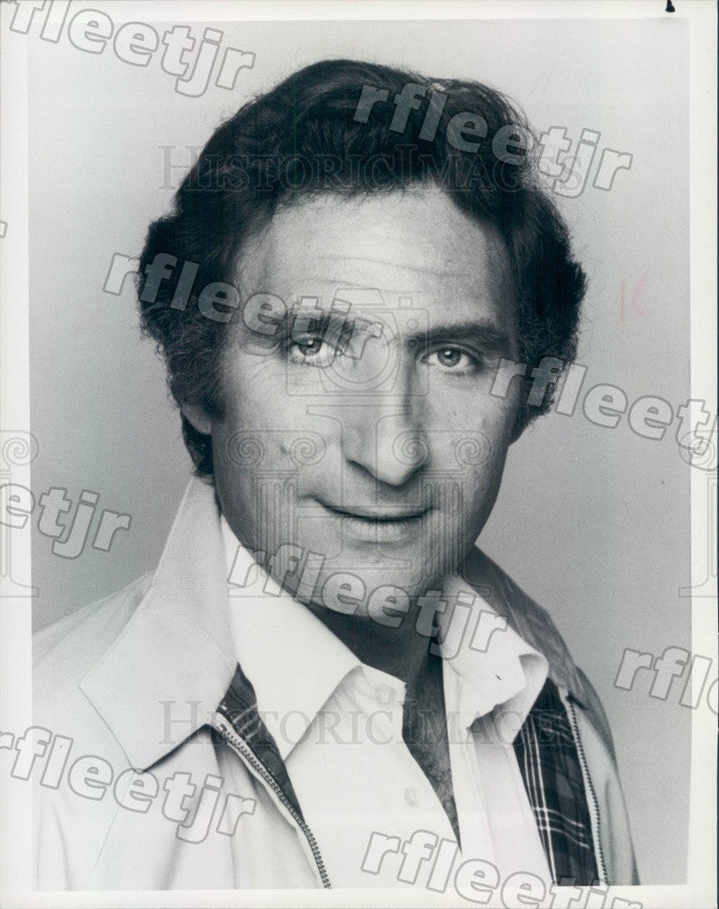 1982 Emmy Winning Actor Judd Hirsch on TV Show Taxi Press Photo adx947 - Historic Images