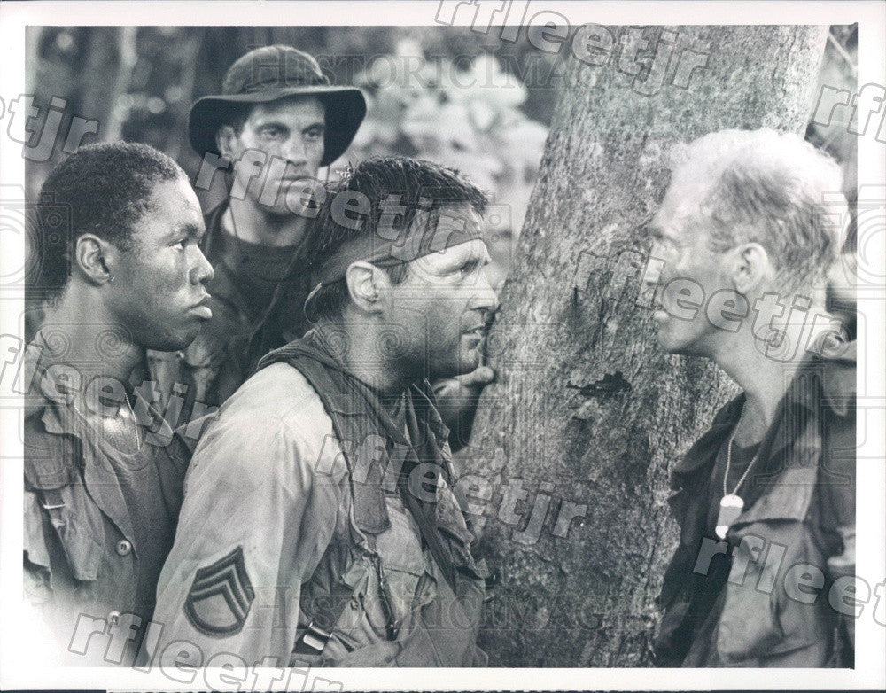 1987 Actors Stan Foster/Rob Knepper/Terence Knox/Mark Rolston Press Photo adx963 - Historic Images
