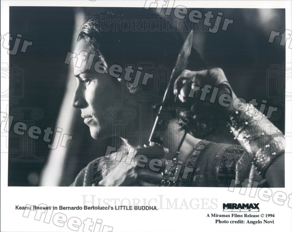 1994 Hollywood Actor Keanu Reeves in Film Little Buddha Press Photo adx99 - Historic Images