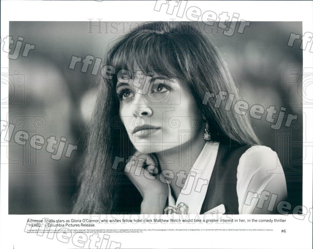 1992 American Actress Adrienne Shelly in Film Hexed Press Photo ady1037 - Historic Images