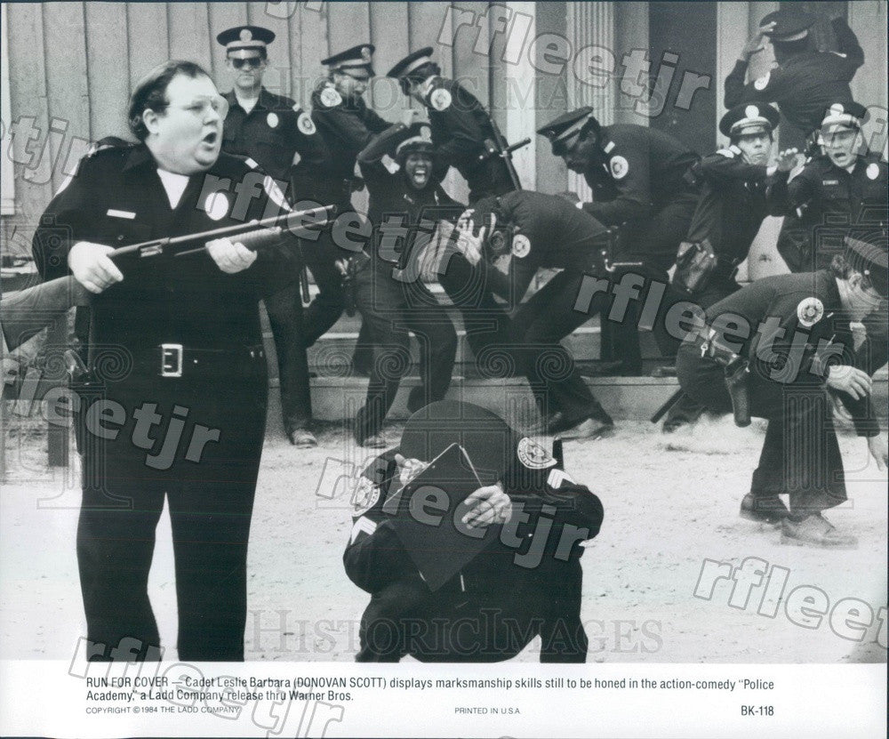 1984 American Actor Donovan Scott in Film Police Academy Press Photo ady111 - Historic Images