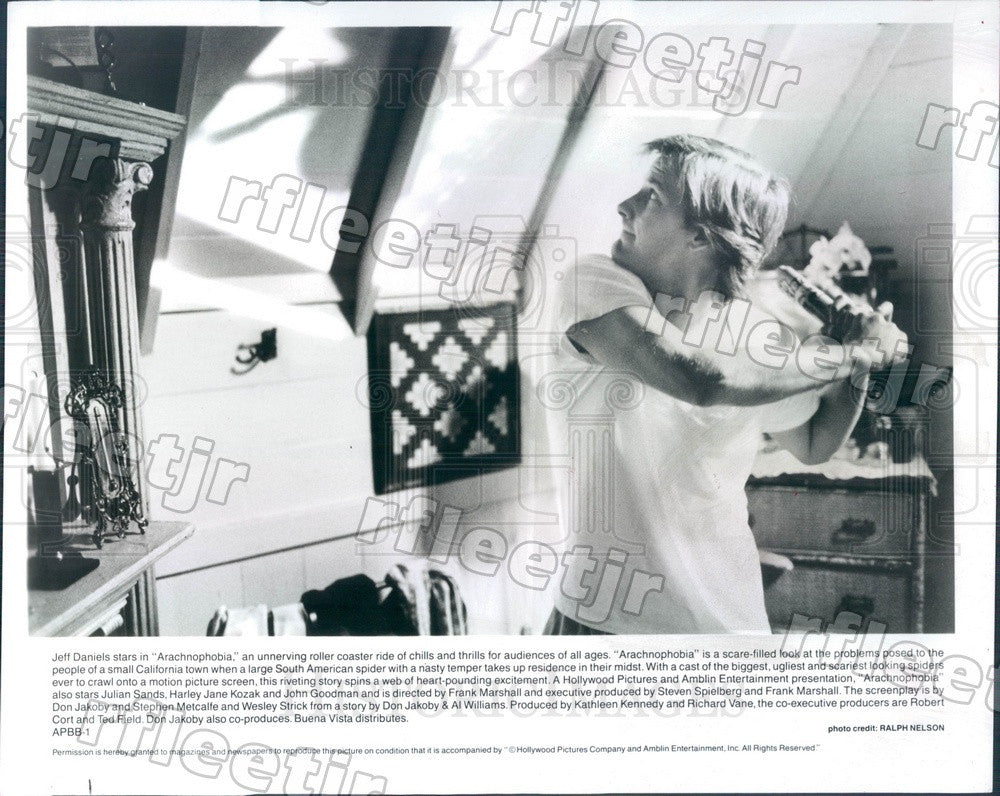 1990 American Actor Jeff Daniels in Film Arachnophobia Press Photo ady1121 - Historic Images