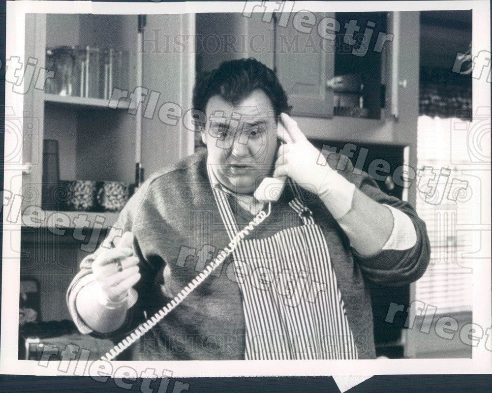 1990 Canadian Actor John Candy in Film Uncle Buck Press Photo ady1193 - Historic Images