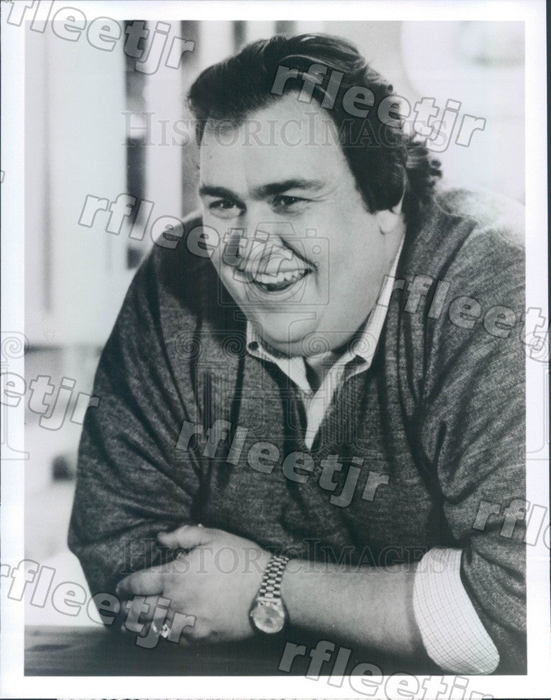 1991 Canadian Actor John Candy in Film Uncle Buck Press Photo ady1195 - Historic Images