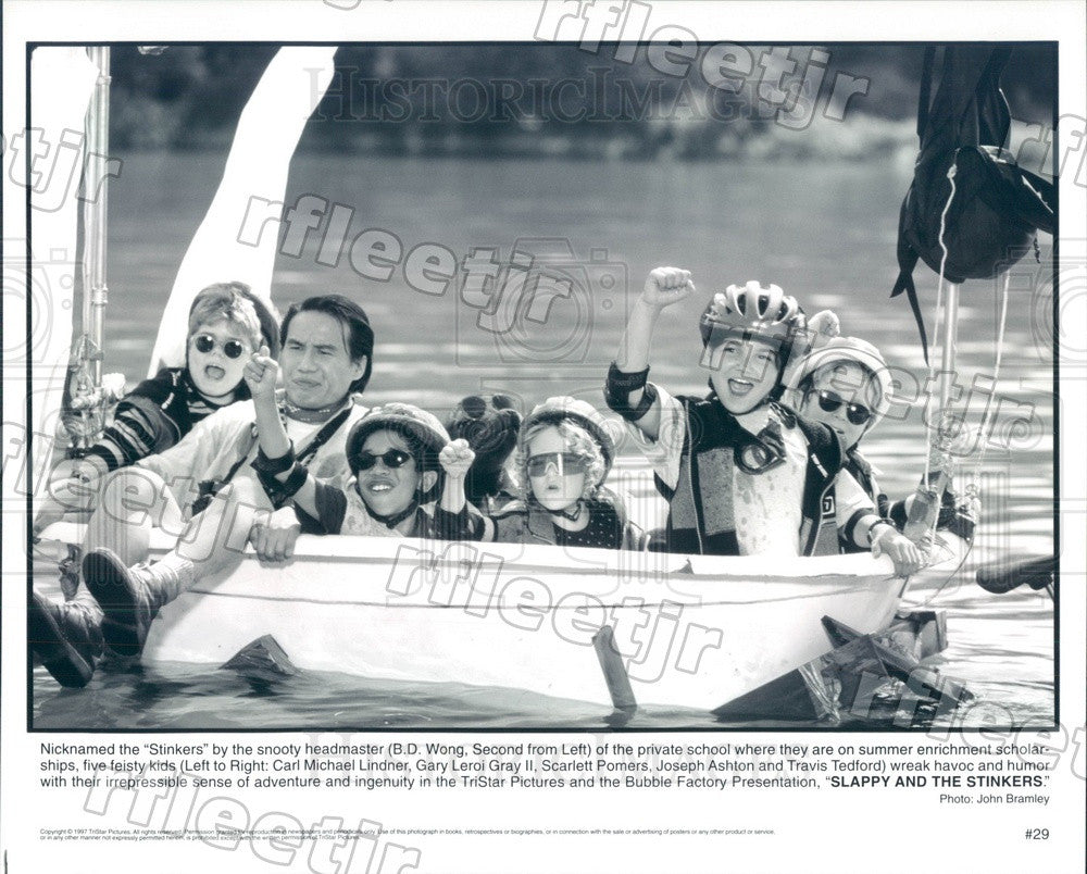 1997 Actors BD Wong, Carl Michael Lindner, Gary Leroi Gray II Press Photo ady149 - Historic Images