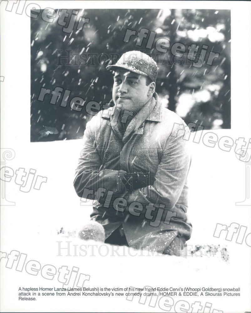 Undated Actor James Belushi in Film Homer & Eddie Press Photo ady167 - Historic Images